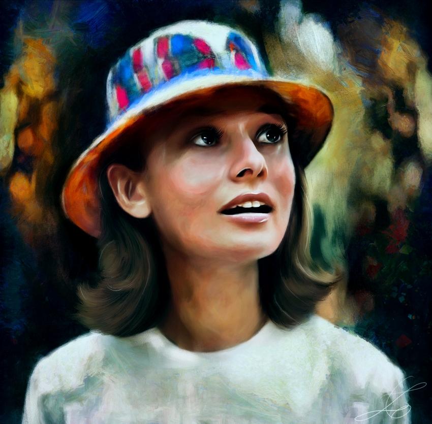 Audrey Hepburn por z6ig